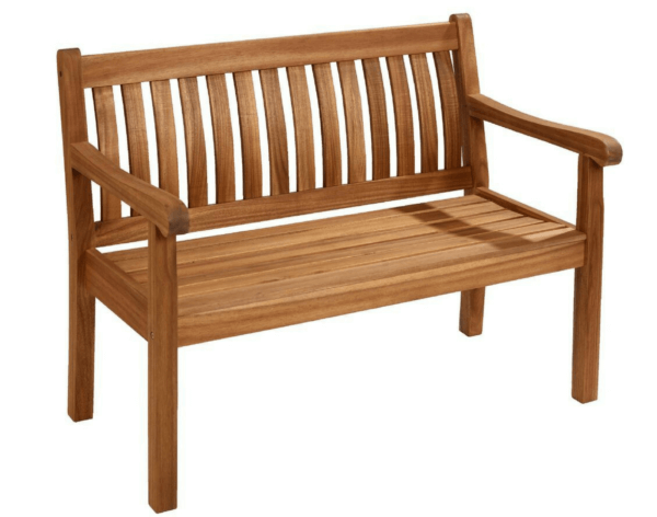 2018 Hartman Wooden Somersby 2 Seat Bench - Acacia Wood
