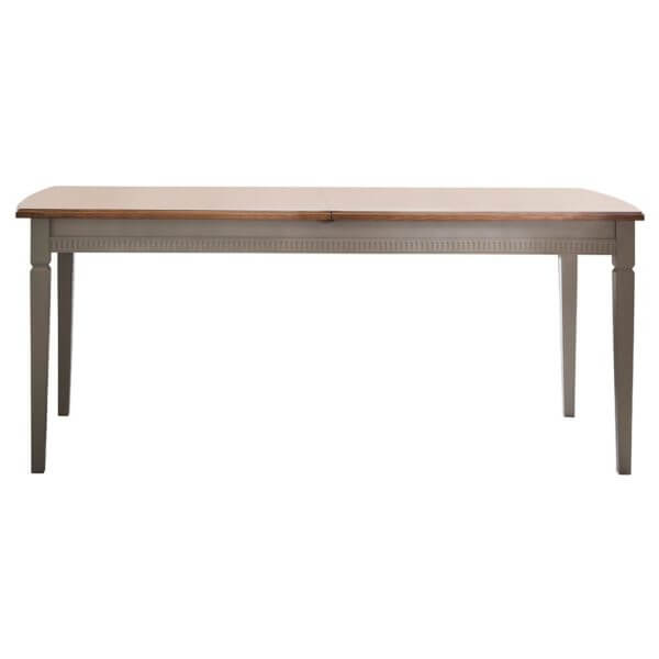The Atlantic Wooden Extendable Dining Table - Neutral (1.86m)