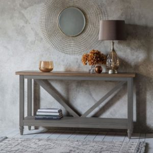 The Rural Trestle Table Slate Grey