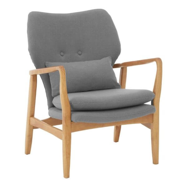 Stockholm Chair Grey Birchwood Frame