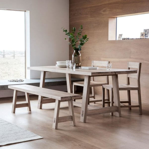 The Serenity Dining Table Set (2.4m)
