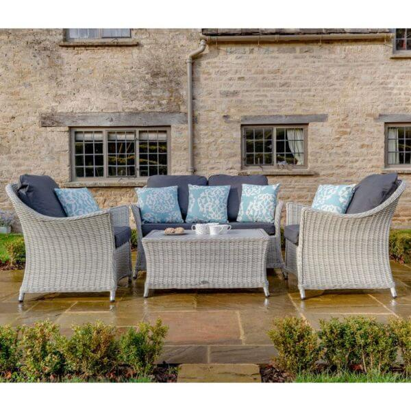 2019 Bramblecrest Monterey 2 Seater Outdoor Sofa Set With Coffee Table