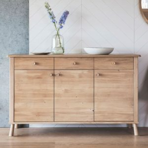 The Bergen 3 Door 3 Drawer Sideboard