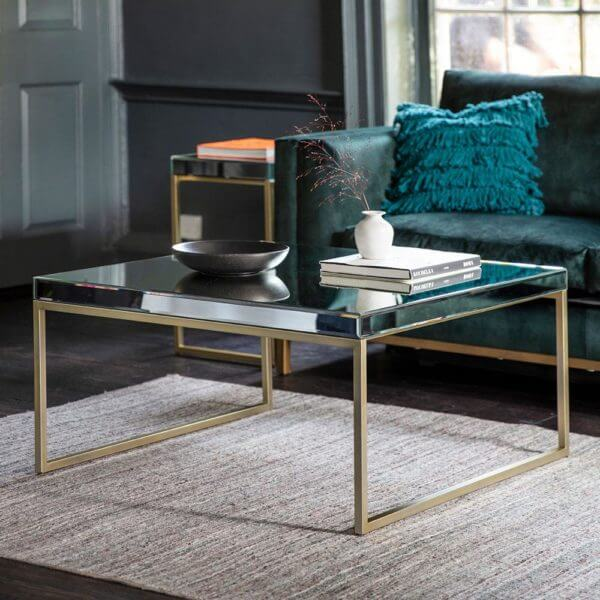The Designer Coffee Table in Champagne