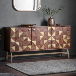The Brass 3 door Sideboard