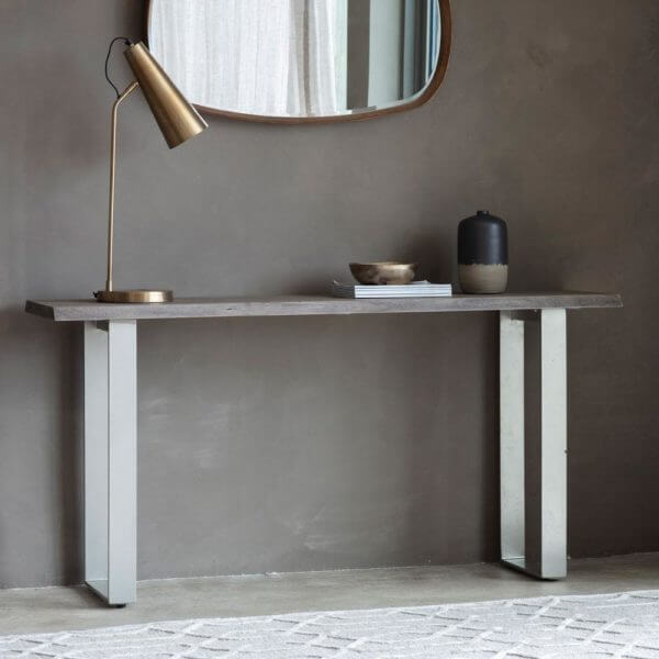 Ash Grain Console Table